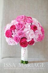 Buchet nasa colorat (IssaEvents) Tags: buchet mireasa trandafiri roz si rosii bucuresti valcea slatina issaevents issamariage
