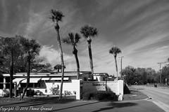 Shangri-La Mobile Home Entrance (Thomas Gremaud) Tags: 55plus blackwhite community tampabay shangrila largo florida