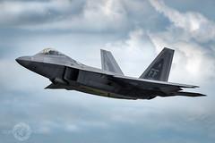 'Conquer or Die' (SJAviation.net) Tags: nikon aircraft aviation jet airshow raptor f22 usaf riat langleyafb aviationphotography 1stfw sjaviationnet