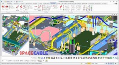 SpaceCable (mipcad) Tags: cabling harness ptc creo eplan e3 zuken