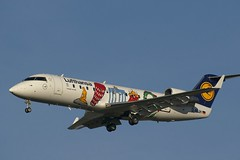 Bombardier CRJ-100 ~ D-ACJH  Lufthansa (Aero.passion DBC-1) Tags: spotting aircraft aviation avion plane dbc1 aeropassion cdg roissy bombardier crj200 ~ dacjh lufthansa