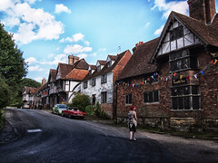 Chiddingstone Village & Church (PhilnCaz) Tags: nationaltrust thenationaltrust nt scenic hdr processed edited tonemapped highdynamicrange niksoftware philncaz historic colourefex nik summer holiday picturesque efex summerholiday church chiddingstone chiddingstonevillage quaint quiet