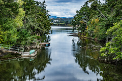 Colquitz creek to Portage Inlet (cdnfish) Tags: saanich portage inlet portageinlet saanichbc bc britishcolumbia canada water tree trees dock canoe calm clouds cloud hdr highdynamicrange sony sonya7m2 a7m2 exploring explore explored esquimalt marigold cutburtholmespark