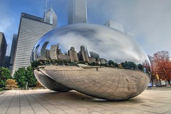 Cloud Gate (Christian Carollo) Tags: cloudgate bean chicago sculpture illinois art