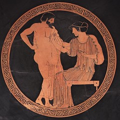 """I just start kissing them. It's like a magnet. Just kiss. I don't even wait."" ⠀⠀⠀ ⠀ ⠀⠀⠀ ⠀ ⠀⠀⠀ ⠀ #instamuseum #nightatthemuseum #metmuseum #greekart #ancientart #ceramics #themet #ancientart #arthistory #museums #culturegram #imwithher (rokorumora) Tags: ijuststartkissingthemit'slikeamagnetjustkissidon'tevenwait ⠀⠀⠀ ⠀ instamuseum nightatthemuseum metmuseum greekart ancientart ceramics themet arthistory museums culturegram imwithher"
