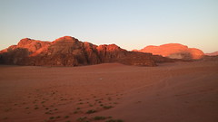 IMG_1939 (sheepman) Tags: wadirum jeep sunset