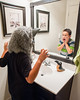 Pre-Teen Wolf (nophoto4jojo) Tags: activeassignmentweekly composite photoshop layer mask blend cs6 child wolf werewolf halloween mirror bathroom scream scare nikon d700 tripod bestofweek1 bestofweek3 bestofweek4