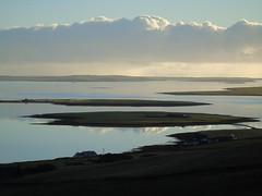 The bay of Firth (stuartcroy) Tags: orkney island damsay scotland scenery sea sky sony still holm grimbister shapinsay beautiful blue bay beach