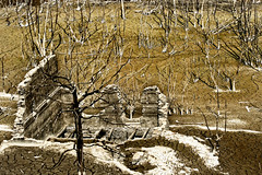 Vestiges (rencarrre) Tags: barrage ruine sarrans