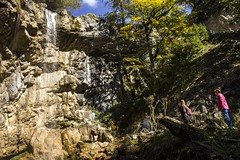 Waterfall and family (Miksi992) Tags: canon d600 waterfall nature fresh river mountain soil tree rock bosnia vlasic outdoor landscape water ugar ugric