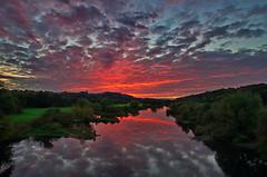 Under a blood red sky (uwe1904) Tags: bochum deutschland himmel landschaft natur pentaxk5 ruhrpott sonnenuntergang stadtlandschaft nrw d