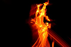 DSC_1952 (kailas bhopi) Tags: red blur yellow fire creative shapes flame camerashake 50mm18glens nikond5100