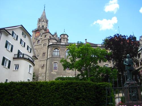Schloss und Burg