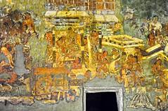 India - Maharashtra - Ajanta Caves - Cave 1 - Mural - 22 (asienman) Tags: india rock maharashtra ajantacaves asienmanphotography