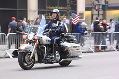 Veteran Bikers (Garibaldi McFlurry) Tags: nyc newyorkcity usa newyork america day military parade motorbike biker fifthavenue bikers veterans veteransday motorcyclist veteransdayparade