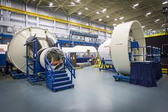 Space Station Module Mockups