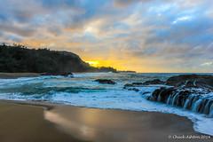 Lumahai_Beachcya-2 (Chuck 55) Tags: sunset hawaii kauai lumahaibeach kauaibeach