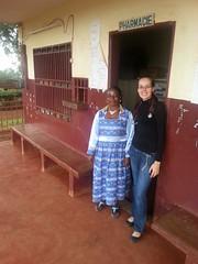 Janine+ Krankenschwester Health Center babouantou