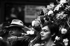 Vanguard (procession) (snarulax) Tags: street city flowers portrait flores students mexico march calle retrato crowd protest protesta procession multitud journalism 43 procesion vanguard periodismo marcha vanguardia estudiantes ayotzinapa
