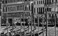 CMG_8448 (world's views) Tags: venice bw italy sticks gondola 2014 grancanal