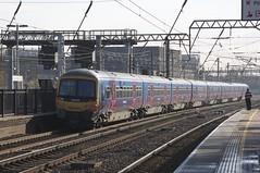 365516 Passes Alexandra Palace (TheJRB) Tags: uk england london station electric train transport rail railway trains alexandrapalace rails emu 365 gn aap gtr unit brel networker greatnorthern electricmultipleunit class365 365516 365514 1p59 goviathameslinkrailway