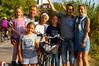 Thierry, Laura, Clément, Nina et Chloé, cannois
