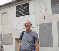 2014-100127B (bubbahop) Tags: old cemetery poland krakow jewish krakw kazimierz kipa kippah 2014 kippa headcover remuh bubbahop europetrip31