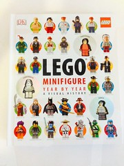 LEGO Minifigure Year by Year (The Brothers Brick) Tags: castle book starwars lego space review minifigures minfig