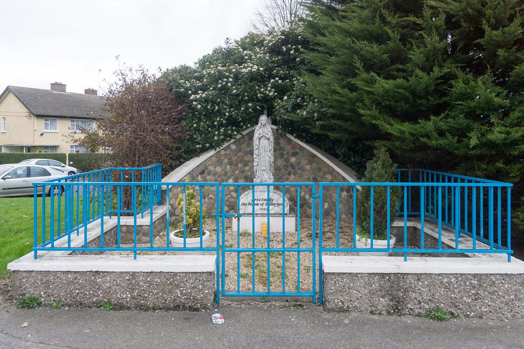 Marian Statue [1986] - Stillorgan Village Ref-100126