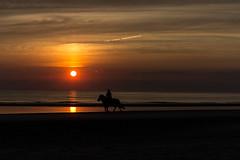 IMG_4734 (Leif Hinrichsen) Tags: sunset summer beach strand denmark island sonnenuntergang sommer insel northsea dänemark danmark nordsee abendhimmel sandstrand rømø röm nordseeinsel
