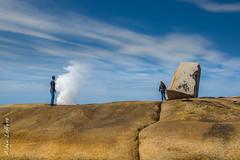 A Bicheno (Alainduclub) Tags: sea mer blowhole tasmania bicheno