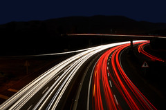 The blue hour (marinadelcastell) Tags: auto road longexposure light lightpainting luz licht calle automobile strada lumière strasse coche bluehour rue carrer luce llum blauestunde cotxe fisiograma longuepose orablu heurebleue physiogram horaazul
