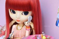 Jessica loves fashion! | Pullip Stica (·Kumo~Milk·^^) Tags: doll eyelashes jessica barbie wig groove gloss pullip rement obitsu eyechips junplanning rewigged stica rechipped