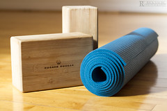 Yoga Mat and Blocks