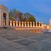 Washington DC World War II Memorial - HDR