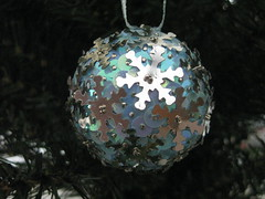Hand Beaded Silver and Pale Blue Snowflake Christmas Bauble (raaen99) Tags: snowflake blue tree silver ball festive shiny pin handmade decoration christmastree celebration gift christmasdecoration ribbon merrychristmas bauble paleblue matte christmasgift christmasball seasonsgreetings sequin christmasbauble christmastheme handbeaded christmasthemed handmadechristmasgift bluesequin silversequin handsequined handmadechristmasbauble sequincoveredchristmasbauble sequincoveredchristmasball handmadechristmasball christmas2014 snowflakesequin palesequin