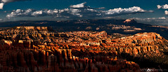 crop 2 Last Light Bryce Canyon Panoramic (Matt Anderson Photography) Tags: park sunset sky motion color art texture nature beauty rock horizontal clouds sunrise matt dark spectacular landscape outdoors photography for utah twilight key long exposure gallery time dusk foreboding room low fine central scenic dramatic grand canyon anderson national commercial destination bryce amphitheater streaks lowkey region copy lapse formations hoodoos