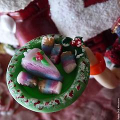 My christmas, my passion... (Small Didi) Tags: christmas food cakes scale cake miniature doll dolls barbie mini barbies momoko baebie christmas2014