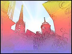 v6-wien-st-stephans-dome-alley-mushroombrain (dannyhennesy) Tags: insane art artwork contemporary experimental freak multi artist danny hennesy mushroombrain funky cool collection pic picture visual this photo is 2 albums add album wien city heart vienna digitalart designandworks listeniviˈɛnə89 german major international organization die bundeshauptstadt von österreich und zugleich 6 siebentgröste stadt der europäischen union eines neun österreichischen bundesländer architektonisch ist bis heute vor allem den bauwerken eine bedeutende rolle internationalen diplomatie flächekm²einwohnerausländeranteilprozentinnerestadt1 innerestadt donaukanal einen bezirksgrenzen donau wiener rathaus rainbow regen regenbogen