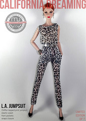 LA JUMPSUIT LEOPARD EDITION 2 (marcelojacob) Tags: madrid show california ca espaa fashion for drive golden la los high spain glamour gate doll dolls angeles walk jacob mj fame barbie dreaming hollywood rodeo agnes marcelo royalty collector jumpsuit taylormade fr2 silkstone californiadreaming