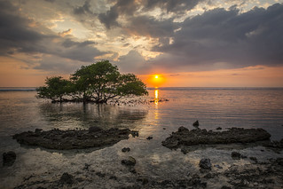Amazing sunset at Gili Trawangan