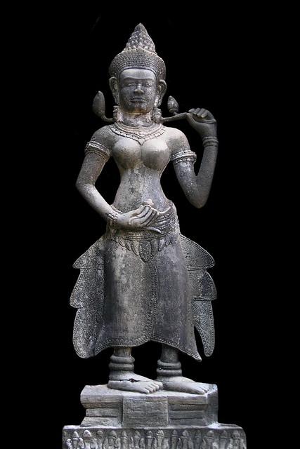 Cambodia - Ta Prohm Temple - Devata - 09b