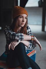 Darina Rodionova (PetrovaJe) Tags: winter portrait woman girl beauty hat fashion pose stpetersburg studio daylight cozy day shadows boots sweet russia vans teenage spb petrovaje