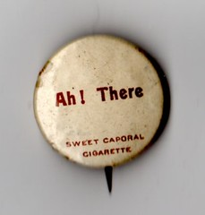 sweetcaporalpin001 (bricall) Tags: sweet cigarette button tobacco pinback caporal