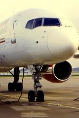 Air 2000 B757G-OOOB at MAN (gordon.bevan@xtra.co.nz) Tags: manchesterairport boeing757 air2000