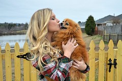 121_Fotor (ashlyn.maria) Tags: girls friends red two dog brown white black green girl beautiful smile hair happy pom long pretty sweet gorgeous hannah gray smiles teenagers best teen curly taylor laugh blonde flannel teenager curled vest straight pomeranian cami wavy laughs pomeranion