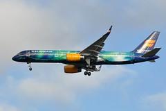 """TF-FIU   """"HEKLA AURORA"""" (airlines470) Tags: msn 757 cdg 603 ln icelandair 26423 tffiu 757256 ecfyk ec609 756200"""
