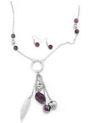 Glimpse of Malibu Purple Necklace K1A P2410A-2
