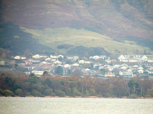 View of Kinross from Lochleven Castle, Kinross, Scotland