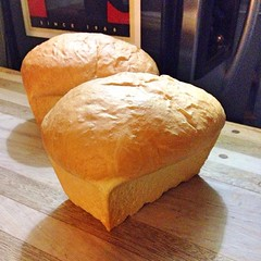 "It's time for the most difficult step of bread baking: waiting to taste the first slice. I don't know how long I'll be able to wait! • <a style=""font-size:0.8em;"" href=""https://www.flickr.com/photos/54958436@N05/16240206941/"" target=""_blank"">View on Flickr</a>"